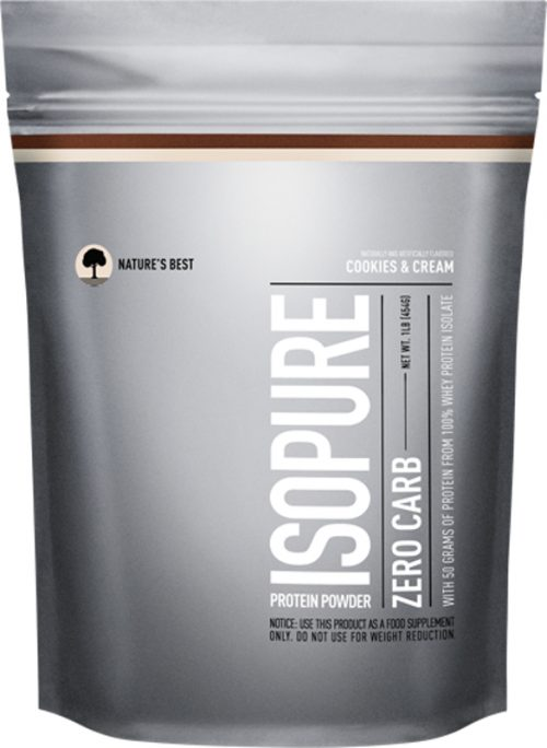 Nature's Best Isopure Zero Carb Protein - 1lb Cookies & Cream