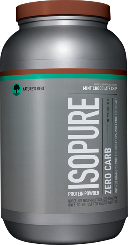 Nature's Best Isopure Zero Carb Protein - 3lbs Mint Chocolate Chip