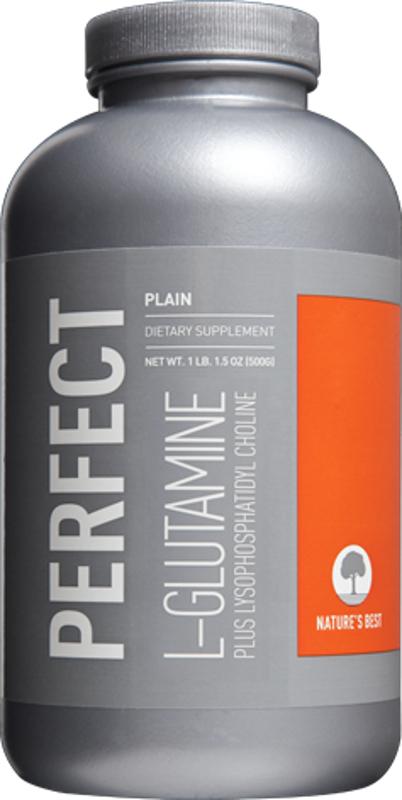 Nature's Best Perfect L-Glutamine - 300g Unflavored