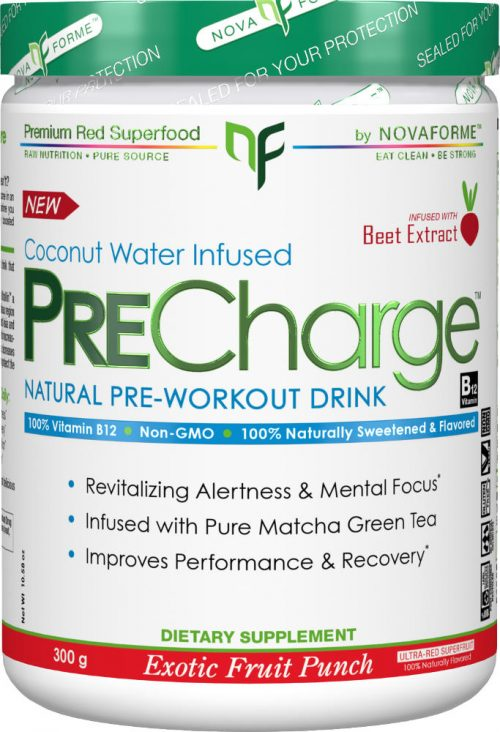 Novaforme PreCharge - 30 Servings Exotic Fruit Punch