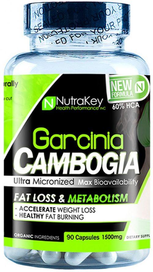 NutraKey Garcinia Cambogia - 90 Capsules