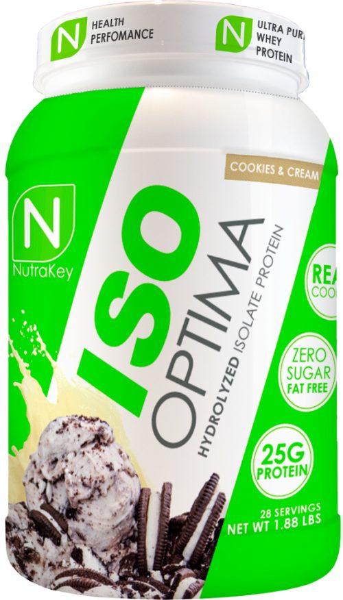 NutraKey ISO Optima - 2.3lbs Cookies & Cream