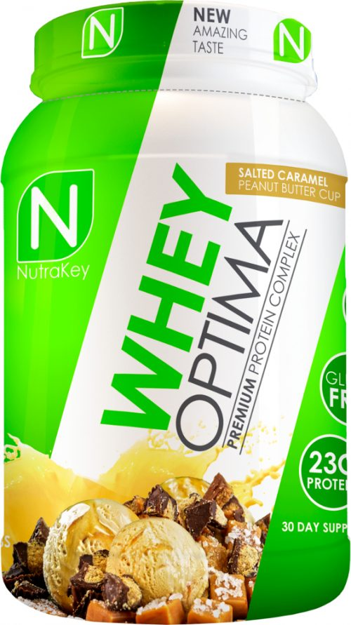 NutraKey Whey Optima - 2lbs Salted Caramel Peanut Butter Cup