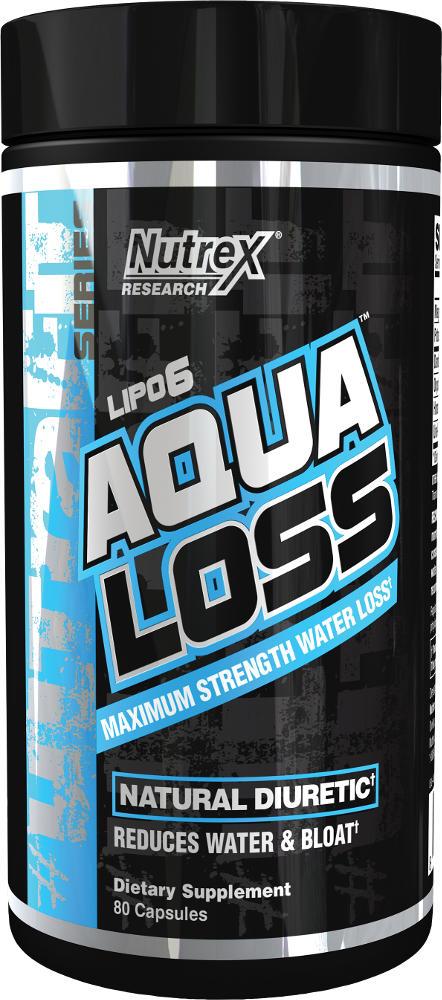 Nutrex Aqua Loss - 80 Capsules