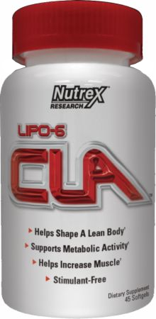 Nutrex Lipo-6 CLA - 45 Softgels
