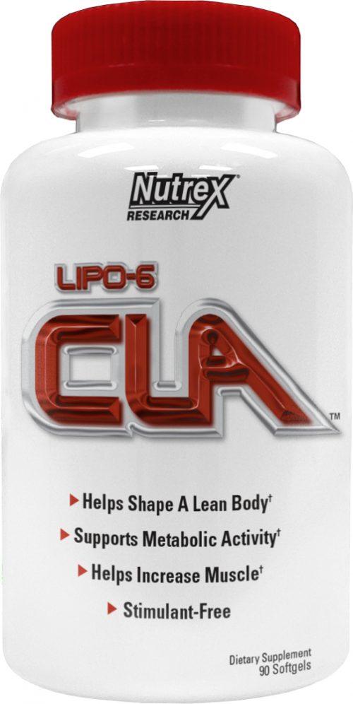 Nutrex Lipo-6 CLA - 90 Softgels