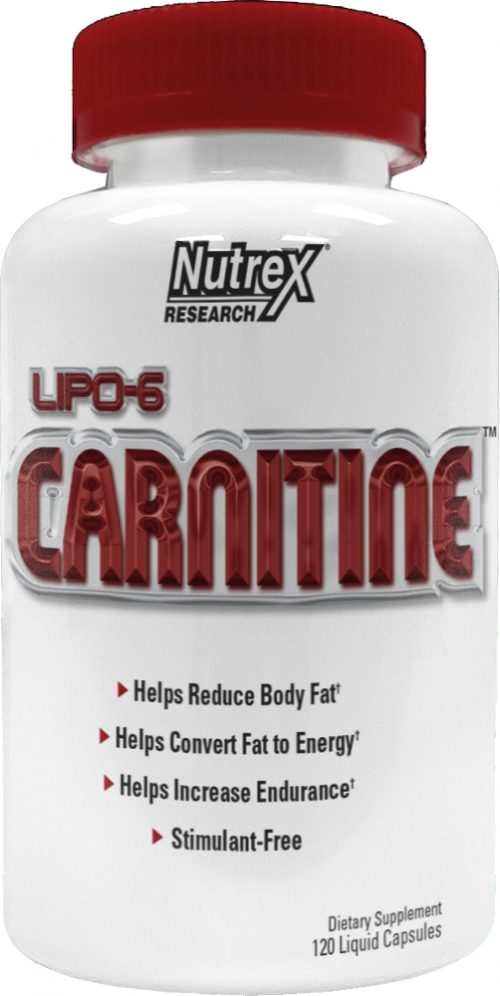 Nutrex Lipo-6 Carnitine - 120 Liquid Capsules