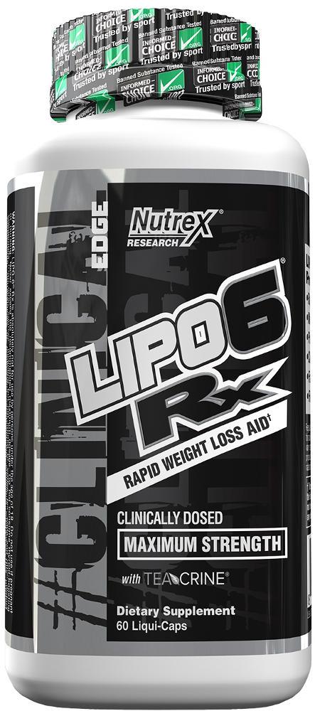 Nutrex Lipo-6 Rx - 60 Liqui-Caps
