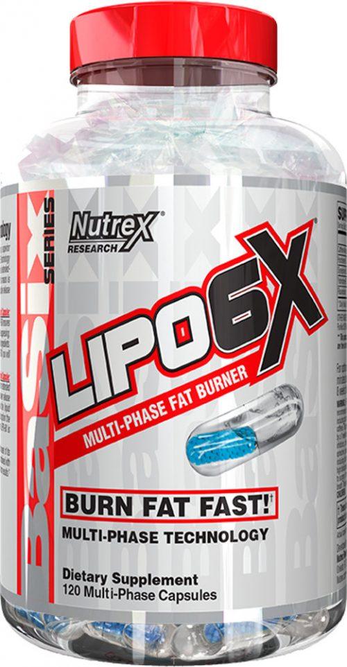 Nutrex Lipo-6X - 120 Capsules