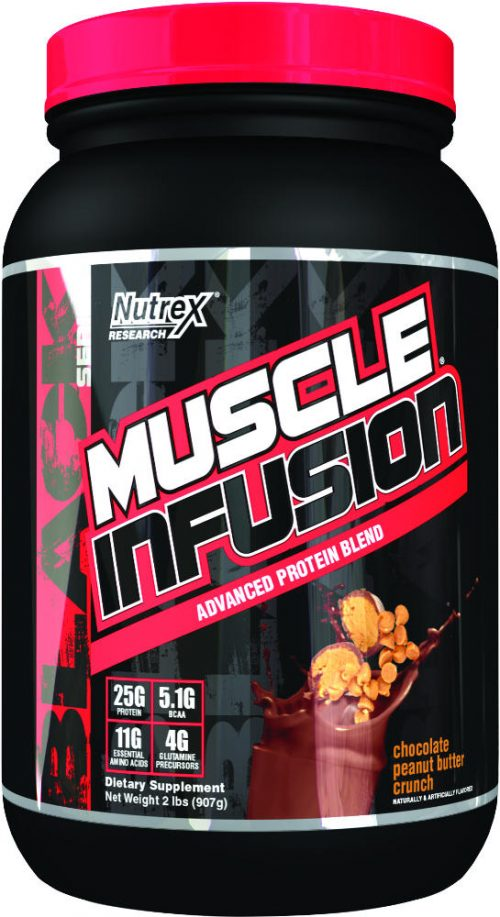 Nutrex Muscle Infusion Black Series - 2lbs Chocolate Peanut Butter Cru