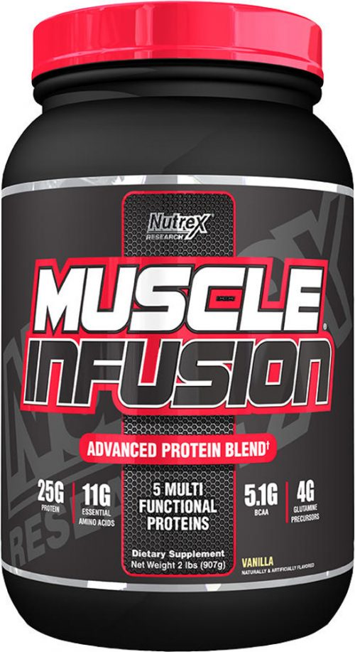 Nutrex Muscle Infusion Black Series - 2lbs Vanilla