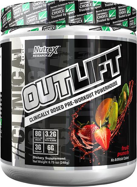 Nutrex Outlift - 10 Servings Fruit Punch