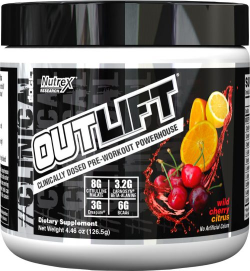 Nutrex Outlift - 5 Servings Wild Cherry Citrus