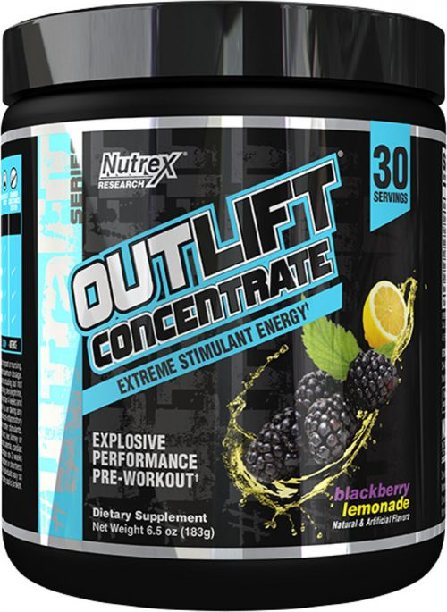 Nutrex Outlift Concentrate - 30 Servings Blackberry Lemonade