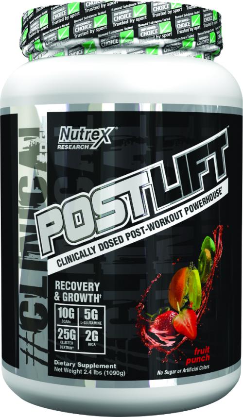 Nutrex Postlift - 20 Servings Fruit Punch