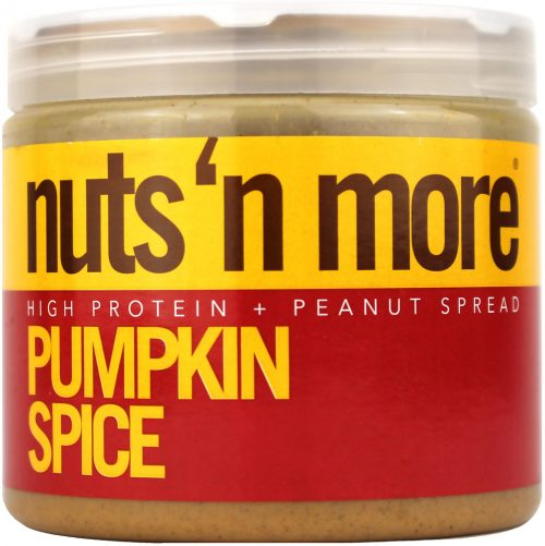 Nuts 'N More High Protein Spreads - Peanut 16oz Pumpkin Spice