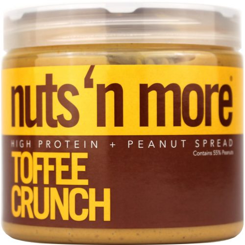 Nuts 'N More High Protein Spreads - Peanut 16oz Toffee Crunch