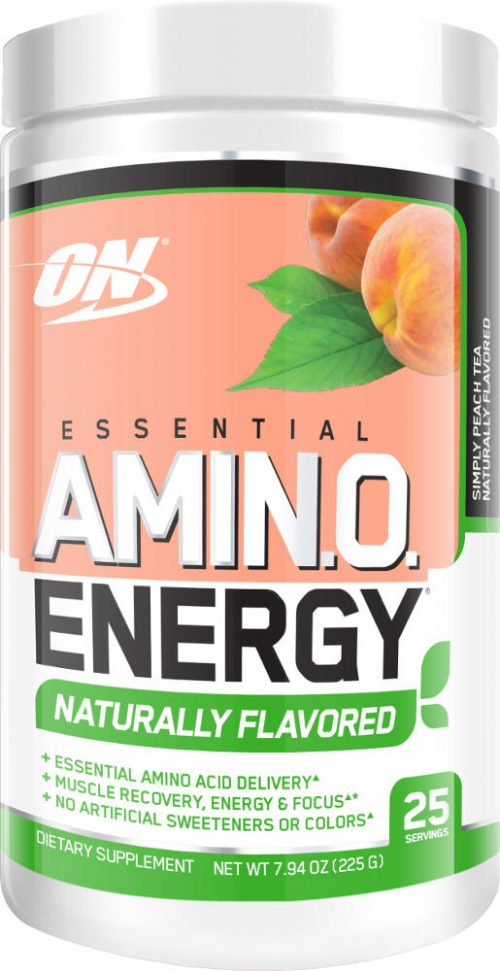 Optimum Nutrition Amino Energy - 25 Servings - Naturally Flavored Peac