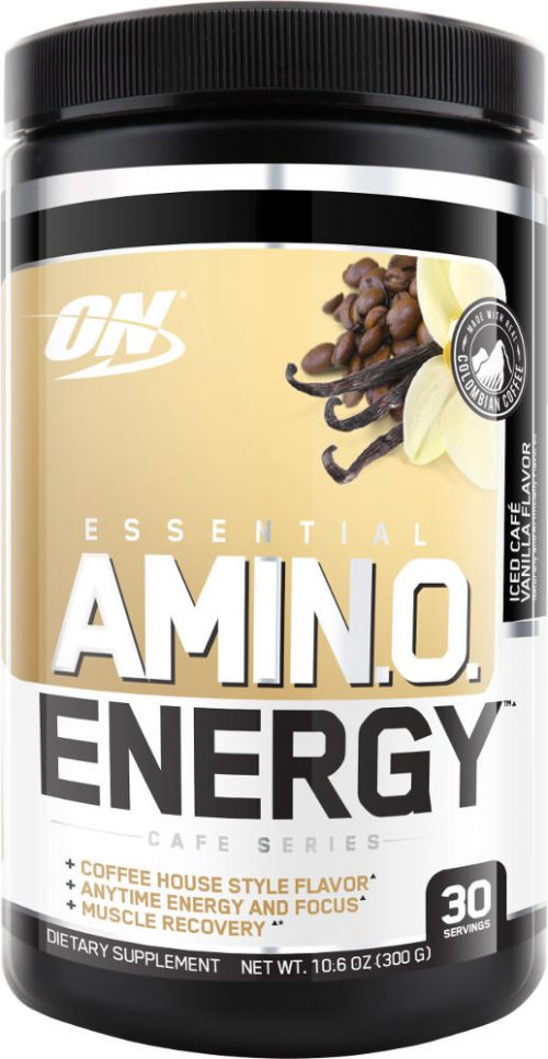 Optimum Nutrition Amino Energy - 30 Servings Iced Cafe Vanilla