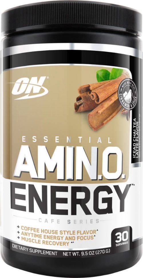 Optimum Nutrition Amino Energy - 30 Servings Iced Chai Tea Latte