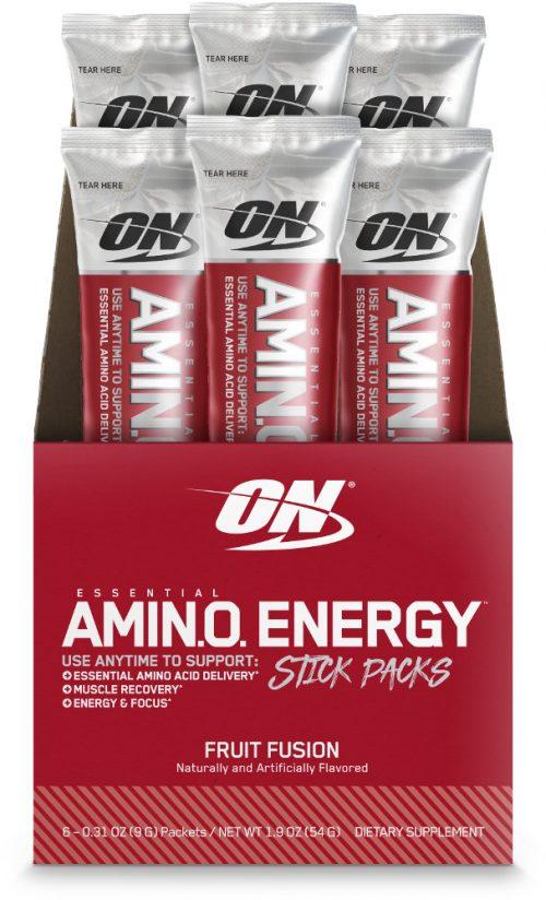 Optimum Nutrition Amino Energy - 6 Stick Packs Fruit Fusion