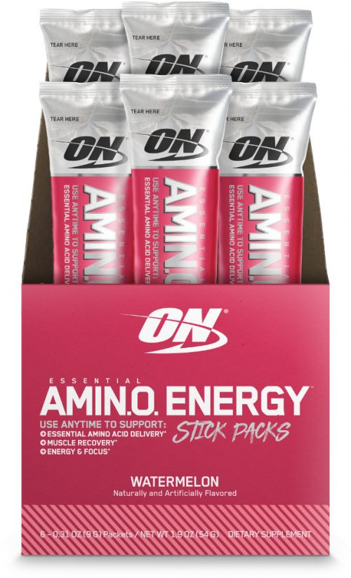 Optimum Nutrition Amino Energy - 6 Stick Packs Watermelon