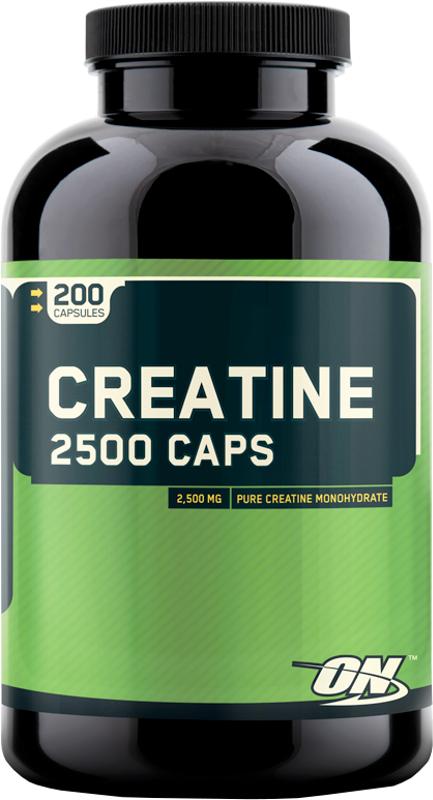 Optimum Nutrition Creatine 2500 Caps - 200 Capsules