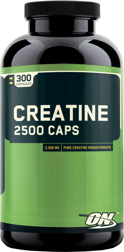 Optimum Nutrition Creatine 2500 Caps - 300 Capsules