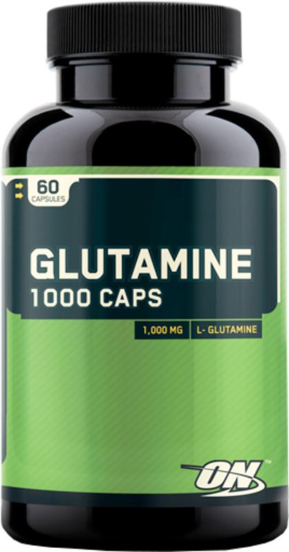 Optimum Nutrition Glutamine 1000 Capsules - 60 Capsules