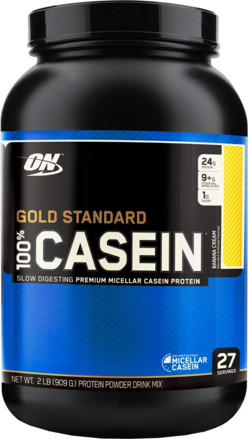 Optimum Nutrition Gold Standard 100% Casein - 2lbs Banana Cream
