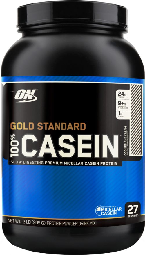 Optimum Nutrition Gold Standard 100% Casein - 2lbs Cookies & Cream