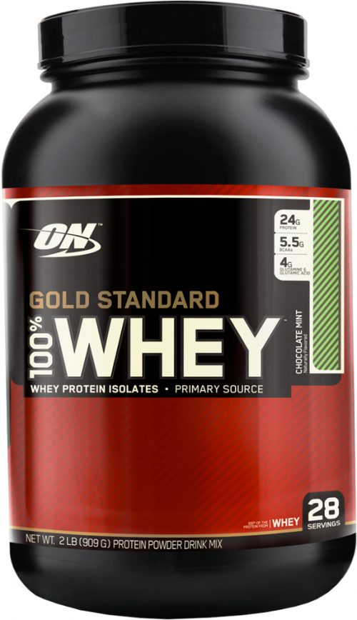 Optimum Nutrition Gold Standard 100% Casein - 2lbs Mint Chocolate Chip