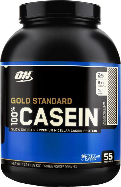 Optimum Nutrition Gold Standard 100% Casein - 4lbs Cookies & Cream