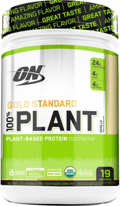Optimum Nutrition Gold Standard 100% Plant Protein - 19 Servings Vanil