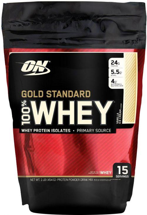 Optimum Nutrition Gold Standard 100% Whey - 1lb Strawberry