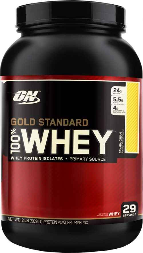 Optimum Nutrition Gold Standard 100% Whey - 2lbs Banana Cream