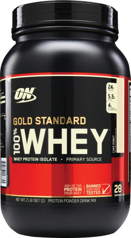 Optimum Nutrition Gold Standard 100% Whey - 2lbs Cake Donut