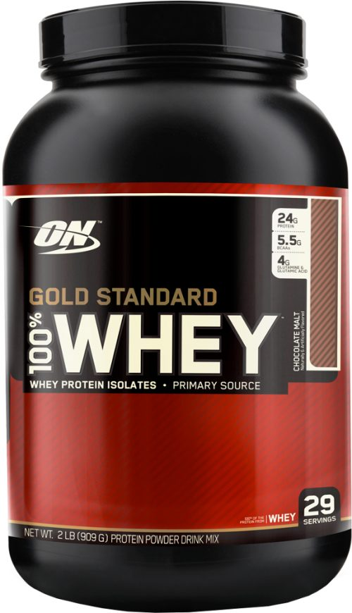 Optimum Nutrition Gold Standard 100% Whey - 2lbs Chocolate Malt