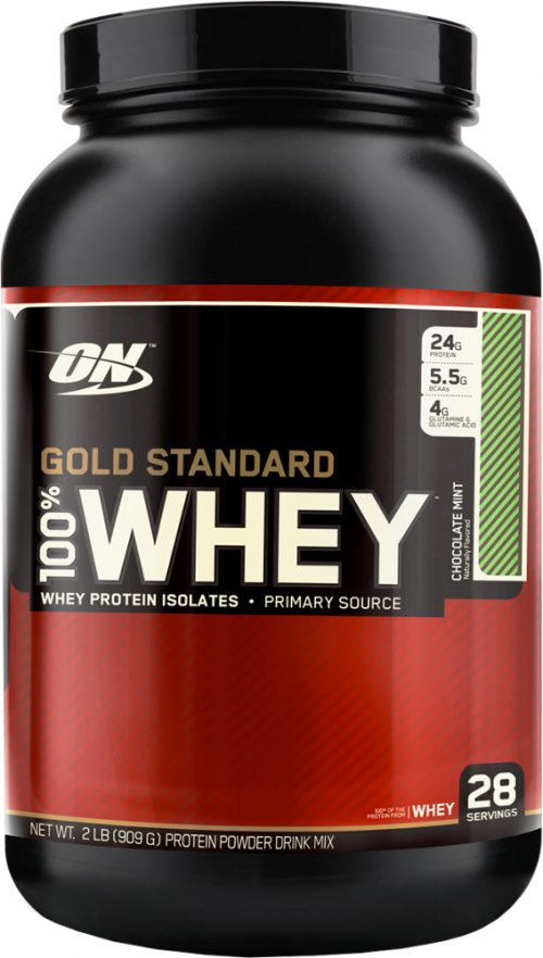 Optimum Nutrition Gold Standard 100% Whey - 2lbs Chocolate Mint