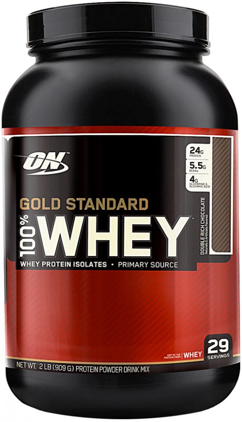 Optimum Nutrition Gold Standard 100% Whey - 2lbs Double Rich Chocolate