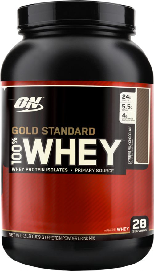 Optimum Nutrition Gold Standard 100% Whey - 2lbs Extreme Milk Chocolat