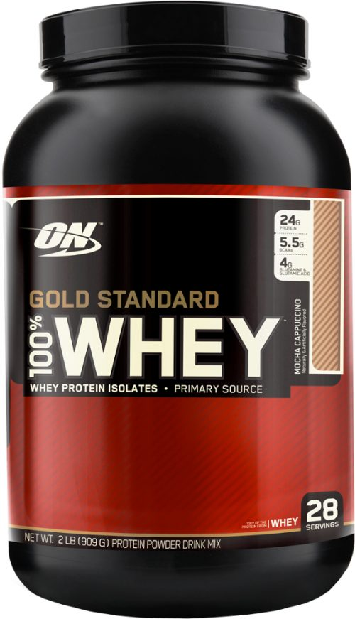 Optimum Nutrition Gold Standard 100% Whey - 2lbs Mocha Cappuccino