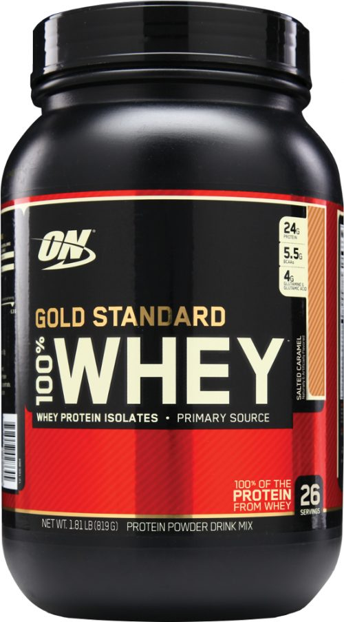 Optimum Nutrition Gold Standard 100% Whey - 2lbs Salted Caramel