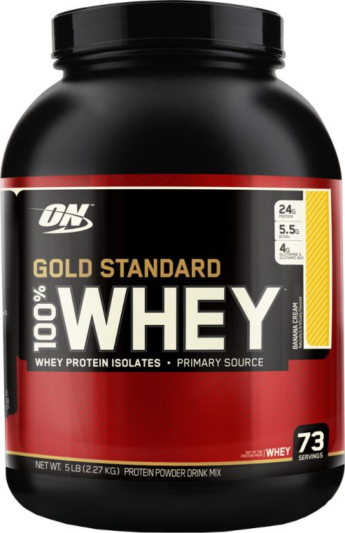 Optimum Nutrition Gold Standard 100% Whey - 5lbs Banana Cream