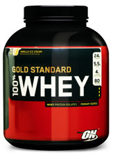 Optimum Nutrition Gold Standard 100% Whey - 5lbs Cake Batter