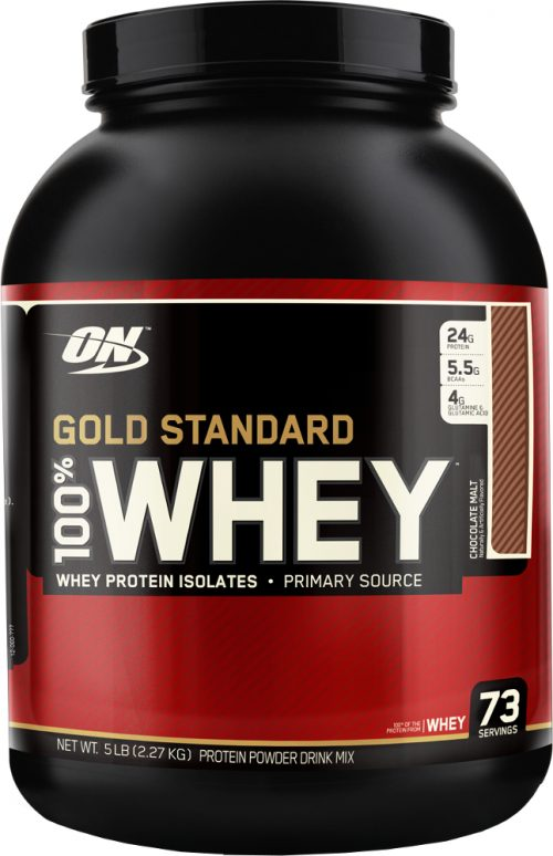 Optimum Nutrition Gold Standard 100% Whey - 5lbs Chocolate Malt