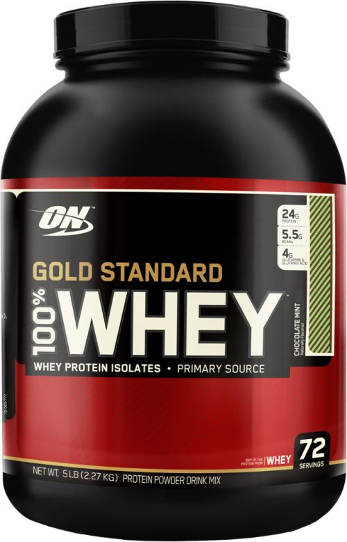 Optimum Nutrition Gold Standard 100% Whey - 5lbs Chocolate Mint