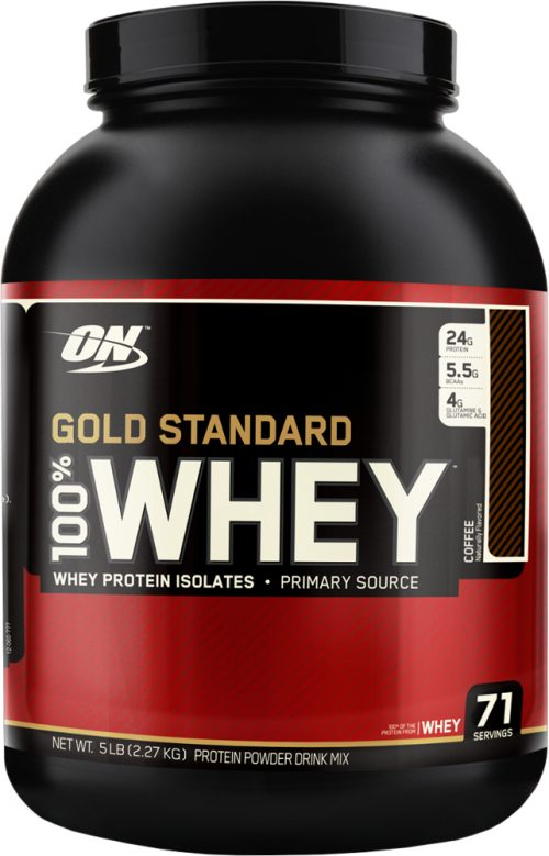 Optimum Nutrition Gold Standard 100% Whey - 5lbs Coffee