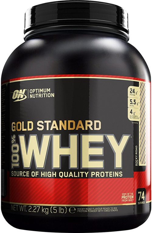 Optimum Nutrition Gold Standard 100% Whey - 5lbs Rocky Road