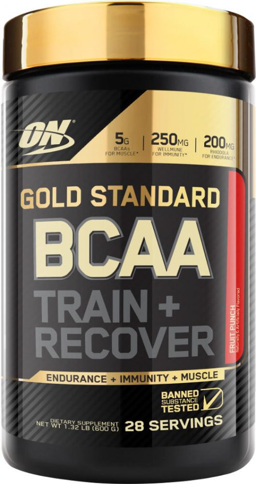 Optimum Nutrition Gold Standard BCAA - 28 Servings Fruit Punch
